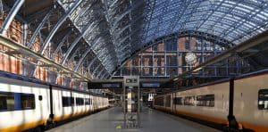 Eurostar St Pancras Terminal