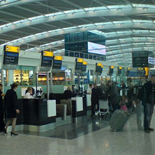 Heathrow T5 Checkin
