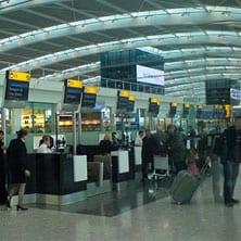 Heathrow T5 Checkin