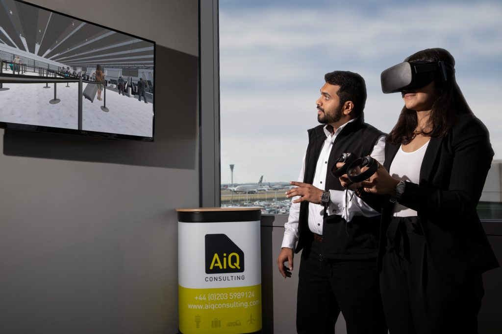 Airport Virtual Reality