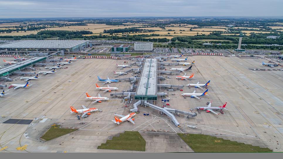 Airport capacity Planning for London Stansted Airport